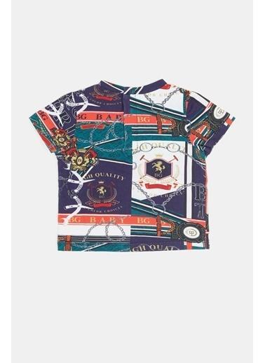 BG Baby Erkek Bebek Desenli T-Shirt 20Pfwbg1503 Renkli